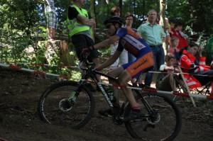 Miguel Heidemann während des MTB CC Rennens